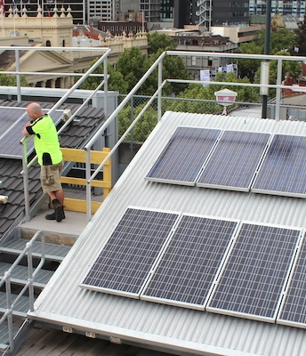 RMIT Classrooms, Laboratories, Myotherapy Clinic & Rooftop Solar Installation